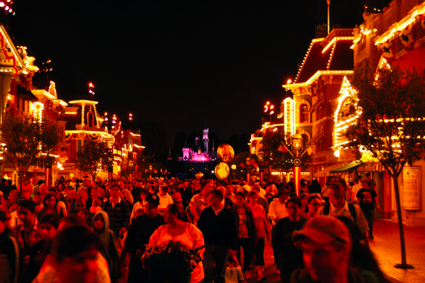 DisneylandatNight_Flickr_Raj
